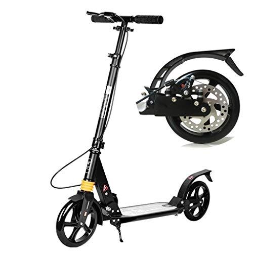SCOOTERYW Adult Scooter Twee wielen Vouwen Twee wielen Stad Werk Wandelen Gereedschap Campus Aluminium Wielen Scooter