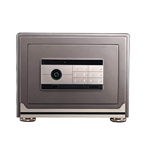 Meubelkluis veilige intelligente vingerafdruk-password Safe Home Office Document sieraden Valuables Safe All Steel inbreker High-End-Safe 40 * 33 * 31cm A