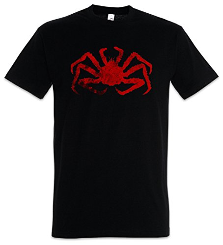 Urban Backwoods King Crab Herren T-Shirt Schwarz Größe XL