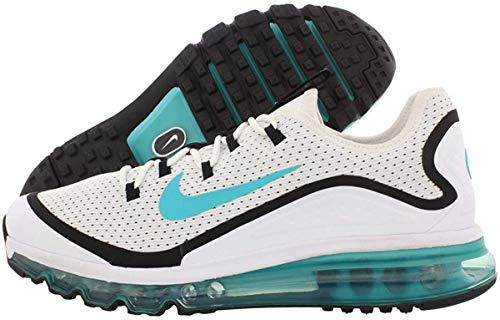 Nike Mens Air Max More Performance Workout Running Shoes White 10.5 Medium (D)