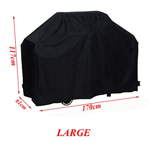 INOUSA Rainproof BBQ Cover Outdoor Grill Anti Dust Waterproof Gas Charcoal Heat Resistant Barbeque