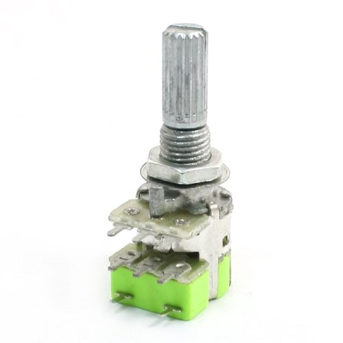 Stereo B50K 50K Ohm Dual Linear Taper Lautstärkeregler Potentiometer Schalter DE de