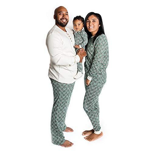 Burt's Bees Baby - Family Jammies, Matching Holiday Pajamas, Organic Cotton PJs