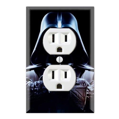 Duplex Wall Outlet Plate Decor Wallplate - Star Wars Darth Vader