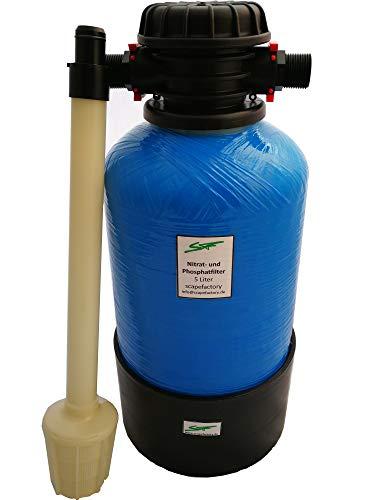 Scapefactory Nitratfilter Phosphatfilter 5 Liter für das Aquarium