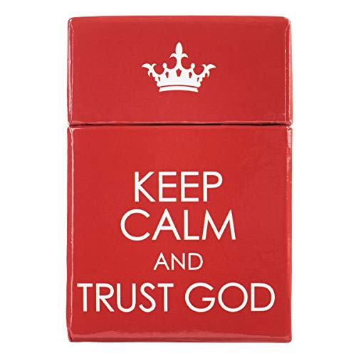 Keep Calm and Trust God Cards - A Box of Blessings