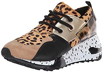 Steve Madden Women s Cliff Sneaker Animal 8.5 M US