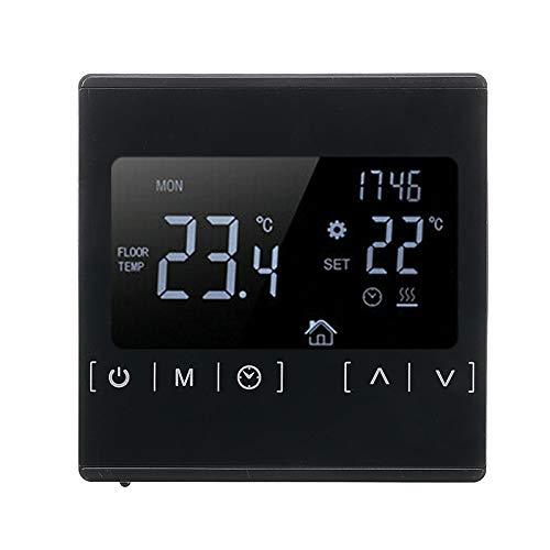 AC 85V-240V LCD Touch Screen Digital Elektrischer Thermostat Heizregler für Home Elektrische Heizung Raumboden Thermostat