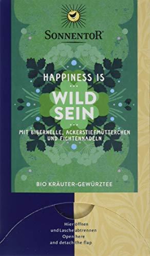 Sonnentor Bio Wild Sein Tee Happiness is, 3er Pack (3 x 27 g)