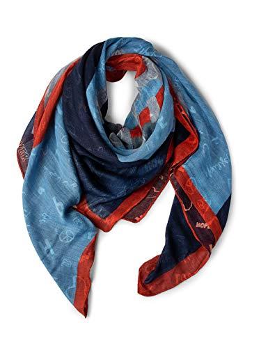Street One Damen Schal 570837, deep Blue, One Size (Herstellergröße: A)