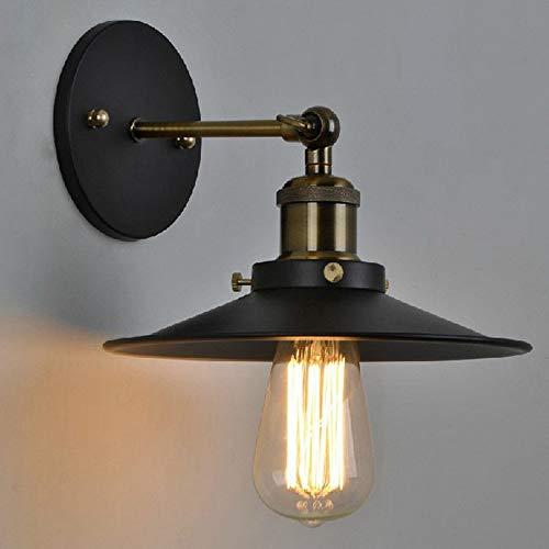 Louvra Lampada da Parete Vintage Industriale Applique da Parete Interno Retro Edison per Cucina Bar Camera da Letto E27