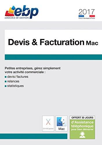 EBP Devis et Facturation MAC 2017 [Téléchargement PC]