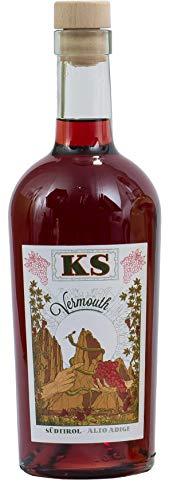 Roner KS Vermouth Rosso (1x 0,7 l) - Vermut Alto Adige Lago di Caldaro Distilleria Artigianale Alto Adige Südtirol piu premiata d'Italia - 700 ml