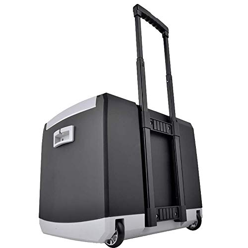 TUNBG 44L Autokühlschrank mit großer Kapazität, tragbarer Autohauskühler und -wärmer mit Riemenscheibe, nur für das Auto