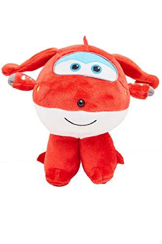 Nickelodeon Super Wings - Flying Friends Flugzeug Charakter Plüschfiguren zum Sammeln und Spielen, Donnie, 17 cm für Kinder (Rot)