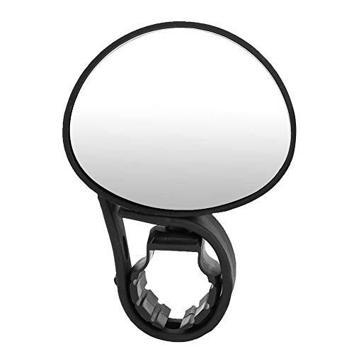 Tbest Accesorios para Ciclismo Espejo para Bicicleta, Revisión del Manillar de la Bicicleta Espejo retrovisor Ajustable para Bicicletas de Carretera de montaña