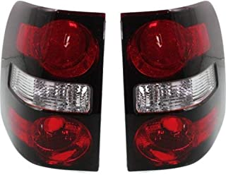 Tail Light Set for EXPLORER 06-10 Right and Left Side Lens and Housing CAPA