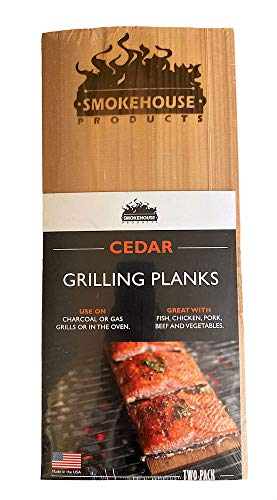 SmokeHouse Cedar Wood Grilling Planks (Pack of two)