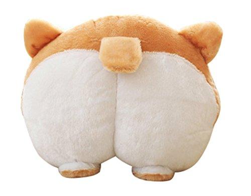Corgi Cute Butt Throw Pillow Animals Stuffed Toy.