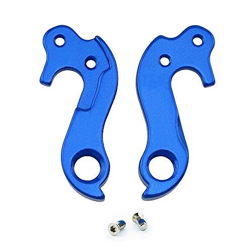 Noah And Theo NT-HD026 Schaltauge für horizontale Ausfallenden, kompatibel mit Felt #123 oder 10123, inkl. Schraubensatz, Satin-BlauAuch für Lynskeys und andere Rennräder geeignet.
