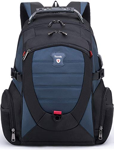 Tzowla Travel Laptop Backpack,Anti-Theft Water Resistant Business Luggage with TSA Lock&USB Charging...