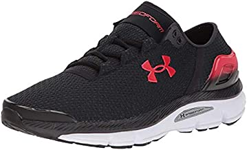 Under Armour Men's Speedform Intake 2 Running Shoe, Black (001)/Anthracite, 9.5