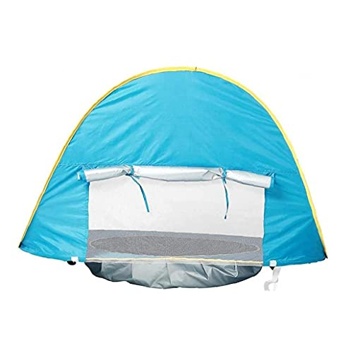 Aiyrchin Baby Sun Shelter Portátil Resistente a La UV Pop-up Safe Safe Beach Natación Tienda para Bebés