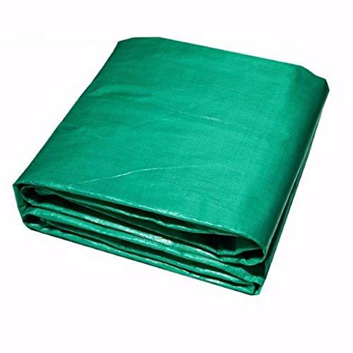 YINUO Lona impermeable Protector solar Gruesa tela ignífuga Tres tela ignífuga anti-flama Cubierta de lluvia de alta temperatura Tela impermeable Lona verde (240 g/metro cuadrado, espesor: 0.3 mm)