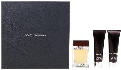 Dolce & Gabbana The One homme/man, Geschenkset (Eau de Toilette,50 ml+After Shave Balsam,50 ml+Duschgel, 50ml)