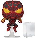 Marvel: Spider-Man Gamerverse - Miles Morales Strike Suit Funko Pop! Vinyl Figure (Includes Compatible Pop Box Protector Case)