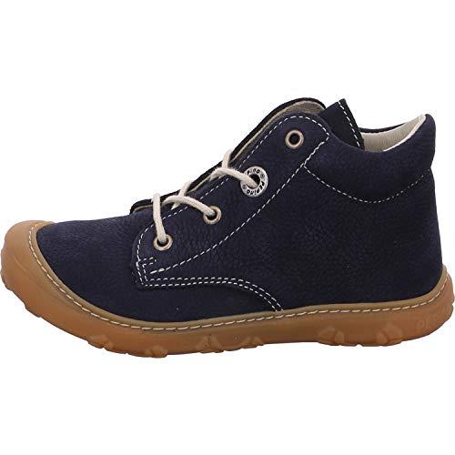 RICOSTA Pepino Unisex - Kinder Stiefel Cory, WMS: Weit, junior Kleinkind-er Kinder-Schuhe Klett-Schuhe toben Spielen Freizeit,See,22 EU / 5.5 UK