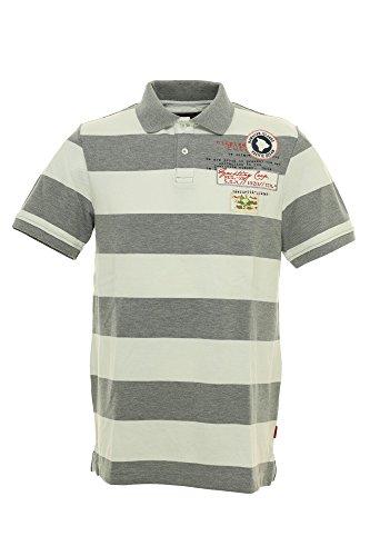 Signum Polo Poloshirt Herren Kurzarm, Farbe:grau;Herrengrößen:M