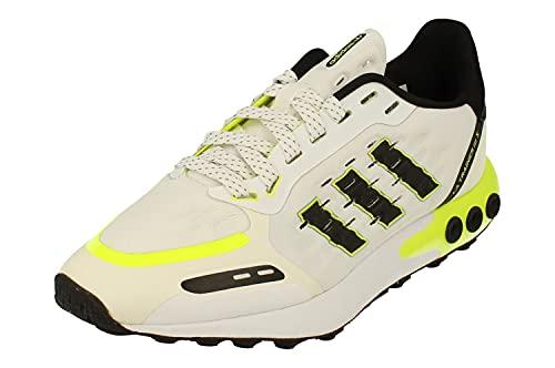 Adidas Originals LA Trainer III Junior Running Trainers (UK 5 US 5.5 EU 38, White Black Yellow FY7216)