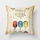 Legend of Zelda - Tingle'S The Rupees of Hyrule Ki Hellip; Throw Pillow by Barrett Biggersfor Your Home 45X45CM