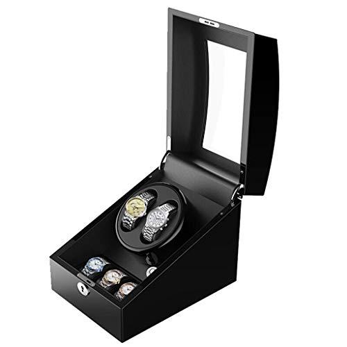 Enrollador de Reloj Profesional Universal Auatic Caja de Motor de rotación Ultra silenciosa Caja de Relojes de Cuerda mecánica de Alta Gama 2 + 3 Mesa de agitación Dispositivo de exhibición Caja Deco