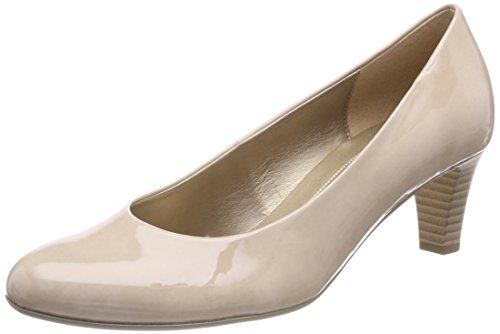 Gabor Shoes Damen Basic Pumps, Beige (Sand), 39 EU