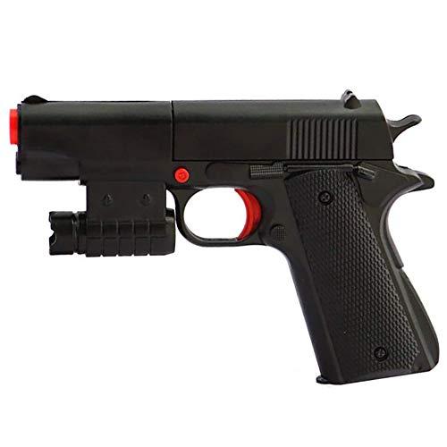 Teanfa Kid Blaster ToyGun Realistic Ejecting  1:1 Scale Colt M1911A1 Rubber Bullet Pistol Mini Pistols
