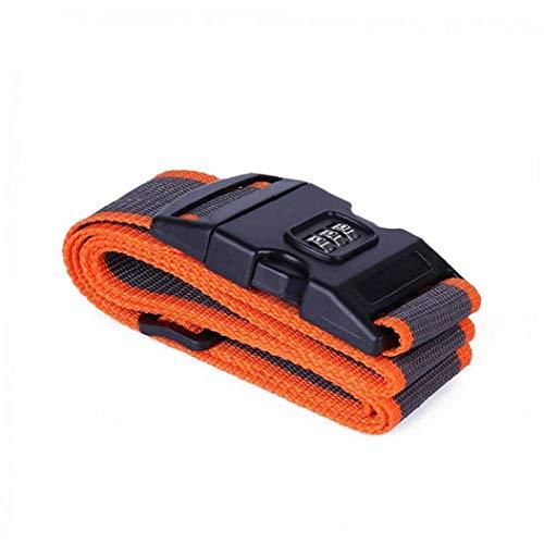 PiniceCore Luggage Straps Adjustable Suitcase Baggage Belts Password Luggage Belt Combination Lock Travel Packing Belt