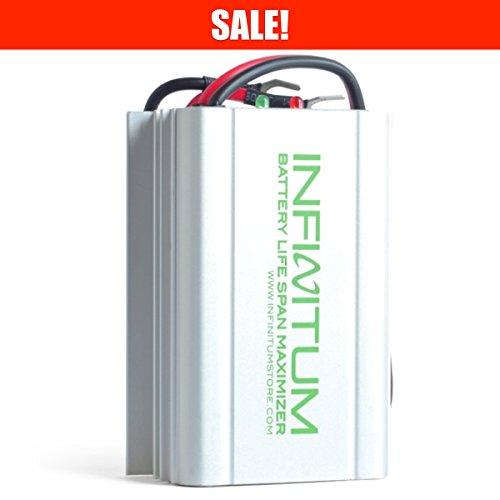 Infinitum 12V Desulfator Battery Life Span Optimizer Reviver Recovery