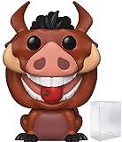 Disney: The Lion King - Luau Pumbaa Funko Pop! Vinyl Figure (Includes Compatible Pop Box Protector Case)