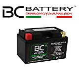 BC Lithium Batteries BCTZ14S-FP-S Batteria Moto al Litio LiFePO4, nero, 1