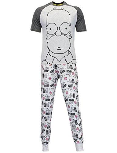 Simpsons - Pijama para hombre - Los Simpsons XX Large