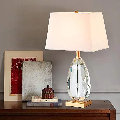 Decoratie Amerikaanse eenvoudige woonkamer kristal tafellamp slaapkamer bedlampje minimalistische stijl sfeervolle decoratieve tafellamp tentoonstelling lamp 36 x 64 cm