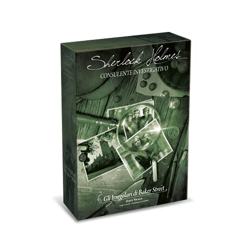 Asmodee - Sherlock Holmes Consulente Investigativo: Gli Irregolari di Baker Street, Gioco da Tavolo, Investigativo, Edizione in Italiano, 8554