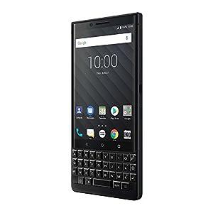 BlackBerry KEY2 Black Unlocked BBF100-2 Single Sim Android Smartphone (AT&T/T-Mobile) 4G LTE (Black 64GB, US Warranty)