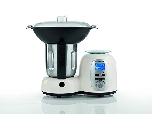 Gourmetmaxx Thermo-Multi Küchenmaschine mit Kochfunktion 10in1 Edelstahl 1.500W