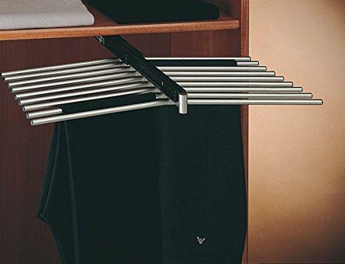 Rangez - Porte Pantalons Double 18 Barres