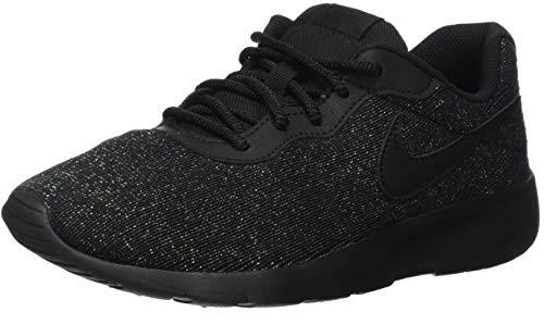 Nike Damen Tanjun SE (GS) Laufschuhe, Schwarz (Black/Black 004), 38 EU
