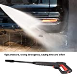 Laveuse à pression, eau d'alimentation Pistolet, 16Mpa Laveuse à haute pression clipser Jet d'eau Jet Fit for Bosch AQT Black & Decker