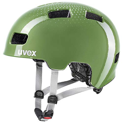 uvex Unisex Jugend hlmt 4 Fahrradhelm, Moss-Green, 51-55 cm